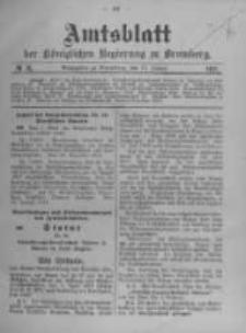 Amtsblatt der Königlichen Preussischen Regierung zu Bromberg. 1911.01.19 No.3