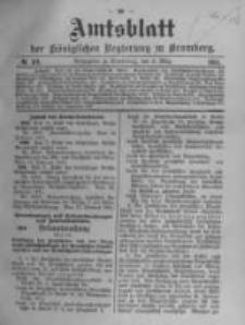 Amtsblatt der Königlichen Preussischen Regierung zu Bromberg. 1911.03.09 No.10