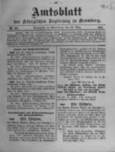 Amtsblatt der Königlichen Preussischen Regierung zu Bromberg. 1911.03.23 No.12