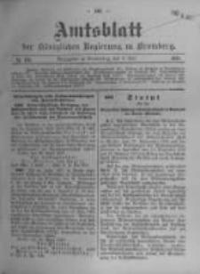 Amtsblatt der Königlichen Preussischen Regierung zu Bromberg. 1911.05.04 No.18