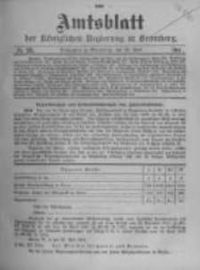 Amtsblatt der Königlichen Preussischen Regierung zu Bromberg. 1911.06.29 No.26