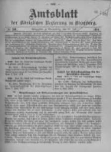 Amtsblatt der Königlichen Preussischen Regierung zu Bromberg. 1911.07.27 No.30