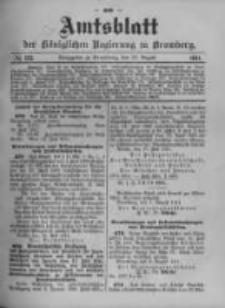 Amtsblatt der Königlichen Preussischen Regierung zu Bromberg. 1911.08.10 No.32