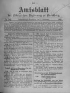 Amtsblatt der Königlichen Preussischen Regierung zu Bromberg. 1911.09.07 No.36