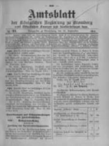 Amtsblatt der Königlichen Preussischen Regierung zu Bromberg. 1914.09.26 No.39