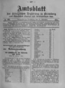 Amtsblatt der Königlichen Preussischen Regierung zu Bromberg. 1914.11.14 No.46