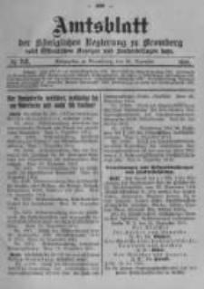 Amtsblatt der Königlichen Preussischen Regierung zu Bromberg. 1914.12.26 No.52