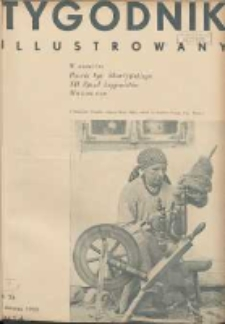Tygodnik Illustrowany 1933.08.13 R.74 Nr33