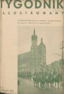 Tygodnik Illustrowany 1933.10.15 R.74 Nr42