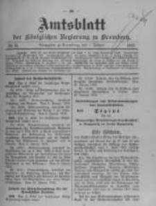 Amtsblatt der Königlichen Preussischen Regierung zu Bromberg. 1912.02.01 No.5