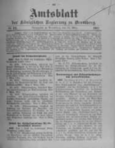 Amtsblatt der Königlichen Preussischen Regierung zu Bromberg. 1912.03.21 No.12