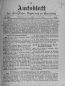 Amtsblatt der Königlichen Preussischen Regierung zu Bromberg. 1912.06.13 No.24