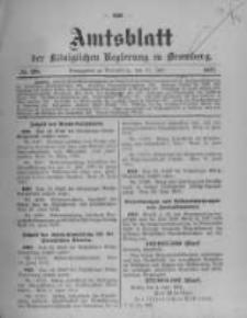 Amtsblatt der Königlichen Preussischen Regierung zu Bromberg. 1912.07.11 No.28