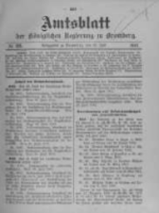 Amtsblatt der Königlichen Preussischen Regierung zu Bromberg. 1912.07.18 No.29
