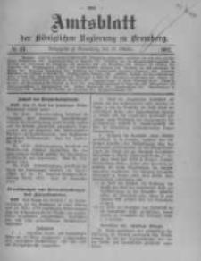 Amtsblatt der Königlichen Preussischen Regierung zu Bromberg. 1912.10.10 No.41