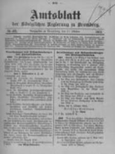 Amtsblatt der Königlichen Preussischen Regierung zu Bromberg. 1912.10.17 No.42