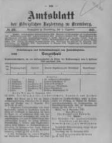 Amtsblatt der Königlichen Preussischen Regierung zu Bromberg. 1912.12.05 No.49