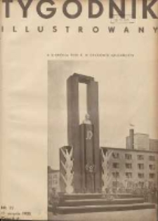 Tygodnik Illustrowany 1935.08.11 R.76 Nr32