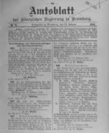 Amtsblatt der Königlichen Preussischen Regierung zu Bromberg. 1910.02.24 No.8