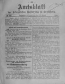 Amtsblatt der Königlichen Preussischen Regierung zu Bromberg. 1910.08.11 No.32