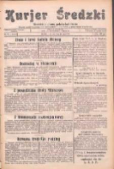 Kurjer Średzki: niezależne pismo polsko-katolickie: organ publikacyjny dla wszystkich urzędów w powiecie średzkim 1932.05.31 R.2 Nr61