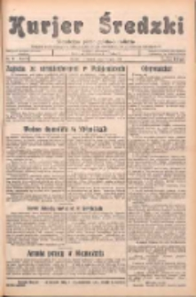 Kurjer Średzki: niezależne pismo polsko-katolickie: organ publikacyjny dla wszystkich urzędów w powiecie średzkim 1932.07.19 R.2 Nr81