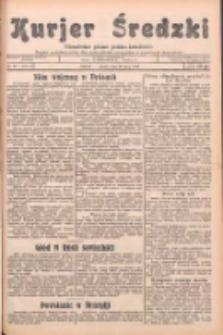 Kurjer Średzki: niezależne pismo polsko-katolickie: organ publikacyjny dla wszystkich urzędów w powiecie średzkim 1932.07.23 R.2 Nr83