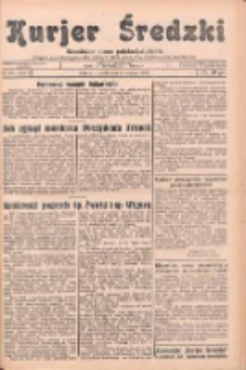 Kurjer Średzki: niezależne pismo polsko-katolickie: organ publikacyjny dla wszystkich urzędów w powiecie średzkim 1932.09.17 R.2 Nr106