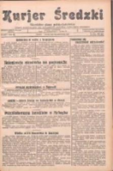 Kurjer Średzki: niezależne pismo polsko-katolickie: organ publikacyjny dla wszystkich urzędów w powiecie średzkim 1932.10.11 R.2 Nr116