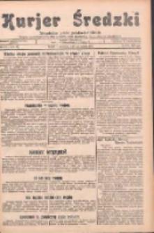 Kurjer Średzki: niezależne pismo polsko-katolickie: organ publikacyjny dla wszystkich urzędów w powiecie średzkim 1932.10.13 R.2 Nr117