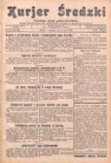Kurjer Średzki: niezależne pismo polsko-katolickie: organ publikacyjny dla wszystkich urzędów w powiecie średzkim 1933.03.16 R.3 Nr31