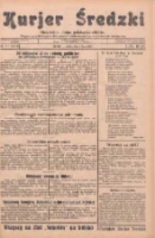 Kurjer Średzki: niezależne pismo polsko-katolickie: organ publikacyjny dla wszystkich urzędów w powiecie średzkim 1933.07.01 R.3 Nr74