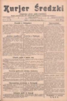 Kurjer Średzki: niezależne pismo polsko-katolickie: organ publikacyjny dla wszystkich urzędów w powiecie średzkim 1933.07.13 R.3 Nr79