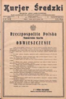 Kurjer Średzki: niezależne pismo polsko-katolickie: organ publikacyjny dla wszystkich urzędów w powiecie średzkim 1933.09.12 R.3 Nr105