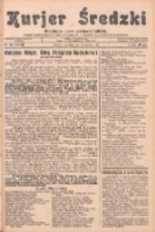 Kurjer Średzki: niezależne pismo polsko-katolickie: organ publikacyjny dla wszystkich urzędów w powiecie średzkim 1933.09.21 R.3 Nr109