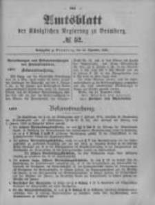 Amtsblatt der Königlichen Preussischen Regierung zu Bromberg. 1899.12.28 No.52