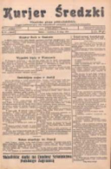 Kurjer Średzki: niezależne pismo polsko-katolickie: organ publikacyjny dla wszystkich urzędów w powiecie średzkim 1934.02.15 R.4 Nr18