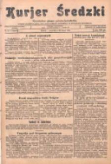 Kurjer Średzki: niezależne pismo polsko-katolickie: organ publikacyjny dla wszystkich urzędów w powiecie średzkim 1934.02.22 R.4 Nr21