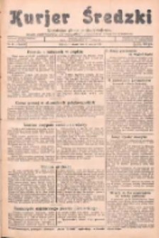 Kurjer Średzki: niezależne pismo polsko-katolickie: organ publikacyjny dla wszystkich urzędów w powiecie średzkim 1934.03.27 R.4 Nr35