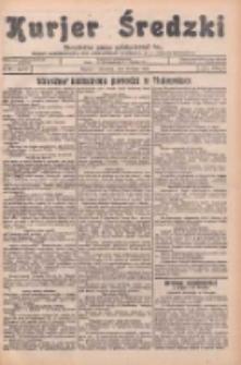Kurjer Średzki: niezależne pismo polsko-katolickie: organ publikacyjny dla wszystkich urzędów w powiecie średzkim 1934.07.19 R.4 Nr81