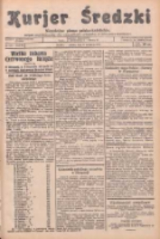 Kurjer Średzki: niezależne pismo polsko-katolickie: organ publikacyjny dla wszystkich urzędów w powiecie średzkim 1934.09.08 R.4 Nr102