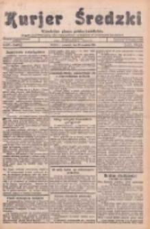 Kurjer Średzki: niezależne pismo polsko-katolickie: organ publikacyjny dla wszystkich urzędów w powiecie średzkim 1934.09.20 R.4 Nr107