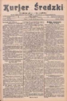 Kurjer Średzki: niezależne pismo polsko-katolickie: organ publikacyjny dla wszystkich urzędów w powiecie średzkim 1934.09.22 R.4 Nr108