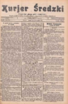 Kurjer Średzki: niezależne pismo polsko-katolickie: organ publikacyjny dla wszystkich urzędów w powiecie średzkim 1934.09.25 R.4 Nr109