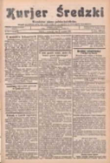 Kurjer Średzki: niezależne pismo polsko-katolickie: organ publikacyjny dla wszystkich urzędów w powiecie średzkim 1934.09.27 R.4 Nr110