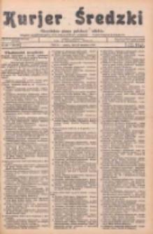 Kurjer Średzki: niezależne pismo polsko-katolickie: organ publikacyjny dla wszystkich urzędów w powiecie średzkim 1934.09.29 R.4 Nr111
