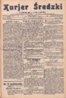 Kurjer Średzki: niezależne pismo polsko-katolickie: organ publikacyjny dla wszystkich urzędów w powiecie średzkim 1934.10.20 R.4 Nr120