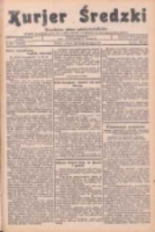 Kurjer Średzki: niezależne pismo polsko-katolickie: organ publikacyjny dla wszystkich urzędów w powiecie średzkim 1934.10.30 R.4 Nr124