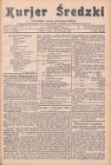 Kurjer Średzki: niezależne pismo polsko-katolickie: organ publikacyjny dla wszystkich urzędów w powiecie średzkim 1934.11.10 R.4 Nr129