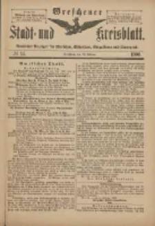 Wreschener Stadt und Kreisblatt: amtlicher Anzeiger für Wreschen, Miloslaw, Strzalkowo und Umgegend 1900.02.17 Nr14